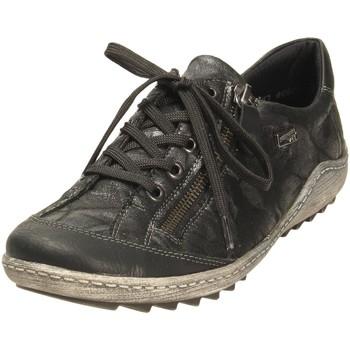 Schuhe Damen Sneaker Low Remonte Dorndorf Schnuerschuhe HW Halbschuh R1402-05 05 schwarz