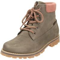 Schuhe Mädchen Boots Vado Schnuerstiefel VADO_MID_SCHNUER_RV_VA-TEX 45201-MILAN/405 grau