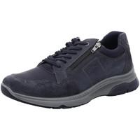 Schuhe Herren Sneaker Low Ara Schnuerschuhe MARCO MARCO 11-24640-22 blau