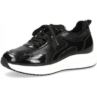 Schuhe Damen Sneaker Low Caprice Schnuerschuhe Woms Lace-up 9-9-23711-27/017 schwarz