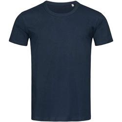Kleidung Herren T-Shirts Stedman Stars Stars Marinen Blau