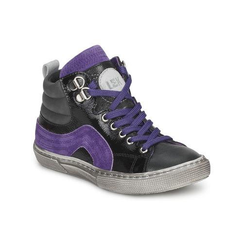 Sneaker Little Mary OPTIMAL Schwarz / Violett 350x350
