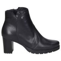 Schuhe Damen Low Boots Desiree BOTINES DESIREÉ LEURY2 SEÑORA NEGRO Noir