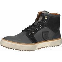 Schuhe Herren Sneaker High Pantofola d'Oro Sneaker Dunkelgrau
