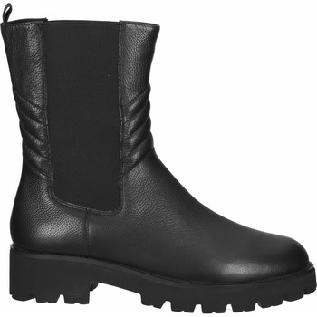 Schuhe Damen Low Boots Steve Madden Stiefel Schwarz