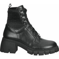 Schuhe Damen Boots Steve Madden Stiefelette Schwarz