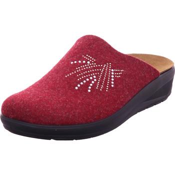 Schuhe Damen Hausschuhe Rohde - 6162/42 BORDEAUX 42