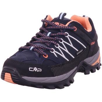 Schuhe Damen Wanderschuhe Cmp Rigel low wmn trekking shoes B.Blue giada-peach