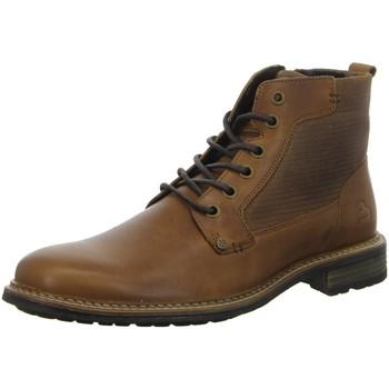 Schuhe Herren Boots Bullboxer Ankle boot/Bootie Tan/Cognac 870K56536FRECOSU RECO braun
