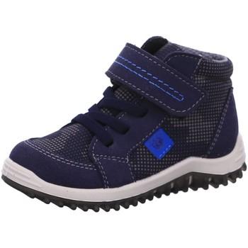 Schuhe Jungen Sneaker High Ricosta Schnuerschuhe PACO 74 2320800/174 174 blau