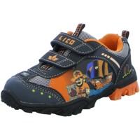 Schuhe Jungen Sneaker Low Lico Klettschuhe Pirate V Blinky 300217 - blau