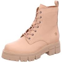 Schuhe Damen Boots Apple Of Eden Stiefeletten Castle-29 beige