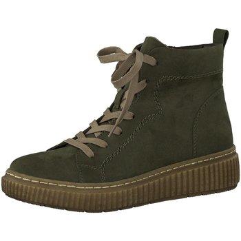 Schuhe Damen Boots Jana Stiefeletten Woms Boots 8-8-25260-27/707 707 grün