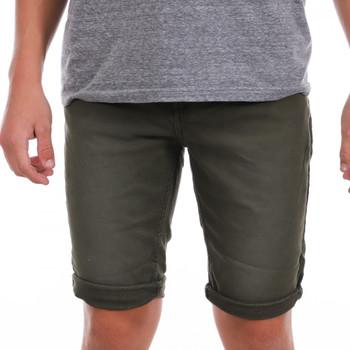 Kleidung Herren Shorts / Bermudas Paname Brothers PB-MALDIVES 3 Grün