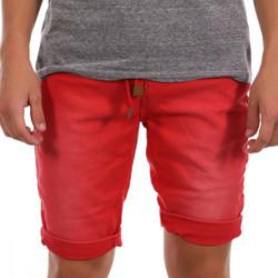 Kleidung Herren Shorts / Bermudas Paname Brothers PB-MALDIVES 3 Rot