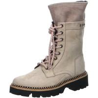 Schuhe Damen Boots Donna Carolina Stiefel Stiefelette 46.682.056-SABBIA grau