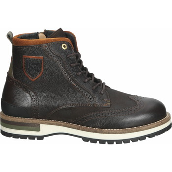 Schuhe Herren Boots Pantofola d'Oro Stiefelette Dunkelbraun