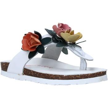 Schuhe Kinder Zehensandalen Bionatura 22B 1009 Weiß