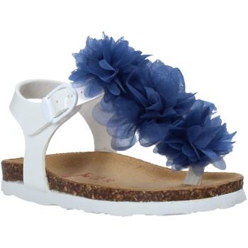 Schuhe Kinder Zehensandalen Bionatura 22B 1007 Weiß