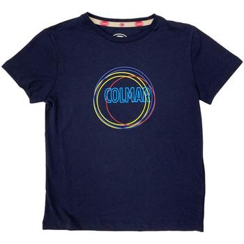 Kleidung Kinder T-Shirts Colmar 3514 7TQ Blau