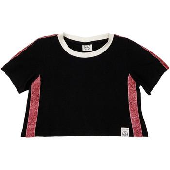 Kleidung Kinder T-Shirts Naturino 6000719 01 Schwarz