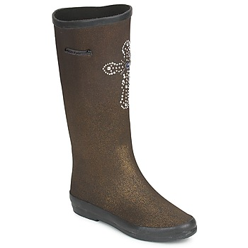 Schuhe Damen Klassische Stiefel Colors of California APONI Gold