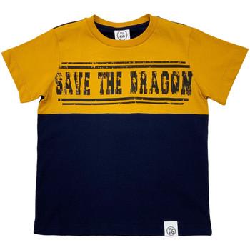 Kleidung Kinder T-Shirts Naturino 6001018 01 Blau