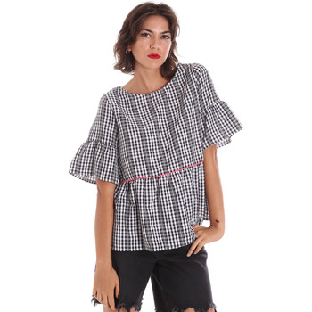 Kleidung Damen Tops / Blusen Naturino 6001027 01 Schwarz