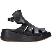 Schuhe Damen Sandalen / Sandaletten Sshady L2403 Schwarz