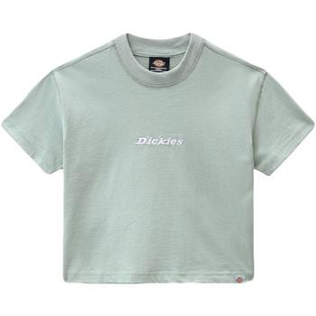 Kleidung Damen T-Shirts Dickies DK0A4XBAB871 Grün