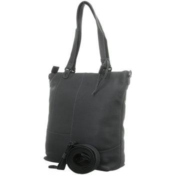 Taschen Damen Handtasche Voi Leather Design Mode Accessoires 21187 ANTHRAZIT grau