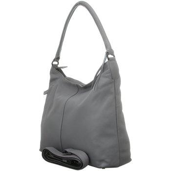 Taschen Damen Handtasche Voi Leather Design Mode Accessoires 21224 STEEL grau