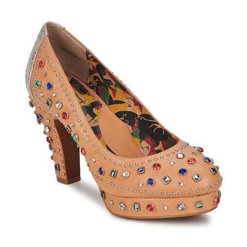 Miss L'Fire Schuhe SHOWGIRL Beige  Schuhe L'Fire Pumps Damen 155,99 fa2715