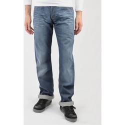 Kleidung Herren Straight Leg Jeans Lee Flint L702RNSM blau