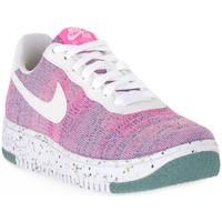 Schuhe Damen Sneaker Low Nike 500 AIR FORCE 1 CRATER FLYKNIT Rosa