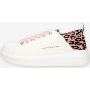 Schuhe Damen Sneaker Low Alexander Smith E113211 Rosa