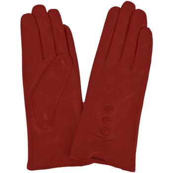 Accessoires Damen Handschuhe Eastern Counties Leather  Kirschrot