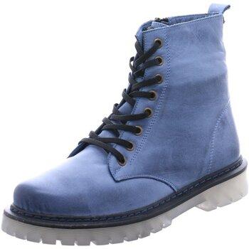 Schuhe Damen Low Boots Gemini Stiefeletten 382106 808 blau