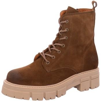 Schuhe Damen Low Boots Apple Of Eden Stiefeletten Castle 28 taupe braun