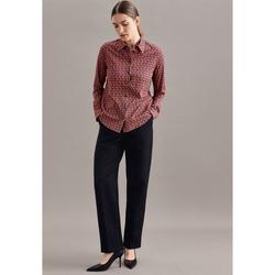 Kleidung Damen Hemden Seidensticker Schwarze Rose 60.332281 Dunkelblau