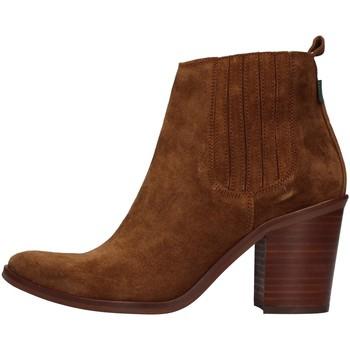 Schuhe Damen Low Boots Dakota Boots DKT24 BRAUN