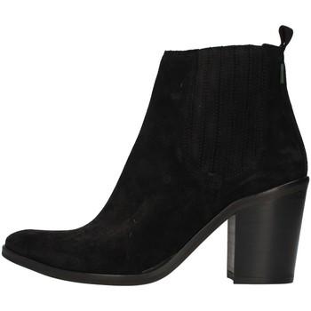 Schuhe Damen Low Boots Dakota Boots DKT24 SCHWARZ