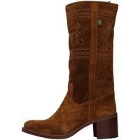 Schuhe Damen Klassische Stiefel Dakota Boots C5 BRAUN