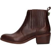 Schuhe Damen Low Boots Dakota Boots DKT73 BRAUN