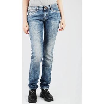 Kleidung Damen Straight Leg Jeans Wrangler Molly W251WJ12Y blau