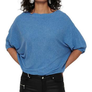 Kleidung Damen Pullover Jacqueline De Yong 15181237 Blau