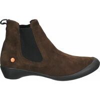 Schuhe Damen Low Boots Softinos Stiefelette Braun