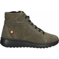 Schuhe Damen Boots Softinos Stiefelette Braun