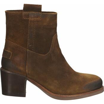 Schuhe Damen Low Boots Shabbies Amsterdam Stiefelette Braun