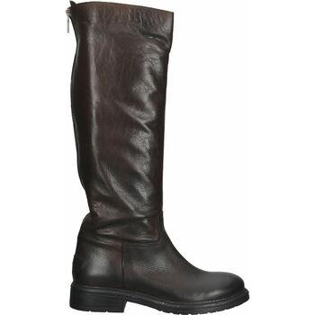 Schuhe Damen Klassische Stiefel Shabbies Amsterdam Stiefel Dunkelbraun